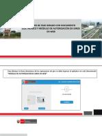 Proceso de Autorizaciones de Giros Electrónicos en Web
