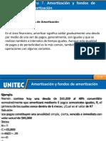 Amortización y fondos de amortización
