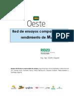 Red de ensayos comparativo de rendimiento de MAIZ
