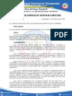 2. ACUERDOS DE CONCEJO 2018 PROF. LUCHO.