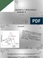 Cinetica Quimica y Biologica Unidad 3 Compartir