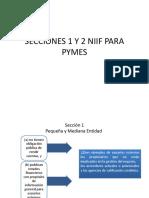 Secciones 1 y 2 Niif Para Pymes