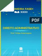 Material de Apoio - Direito Administrativo (Prof. Felipe Dalenogare)