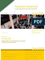 Prioridades de Negocio para gerenciar durante la recesión | PwC Venezuela