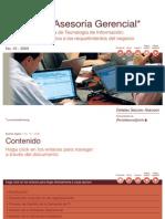 Gestión de la demanda de Tecnología de Información