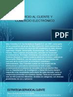 Evidencia 6 Propuesta Servicio al cliente y Comercio electrónico