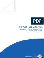 The Witness Charter