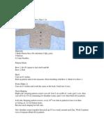 Little Boys Collared Jacket - Knitting Pattern