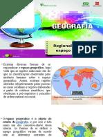 A Regionalização do Espaço Mundial