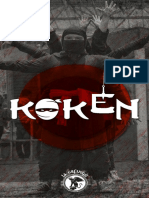 Manual de Improvisación Teatral Koken