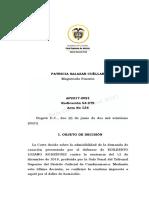 54979-21.docx imputación inflada, progresividad, actualidad en legítima defensa vía @CarlosGuzman122