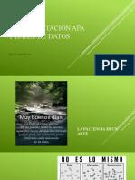 APA 7 - Citas y Bibliografía
