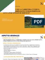 BASE DE TEMAS- TRABAJO DE PROYECTO DE PREINVERSION