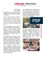 Cuidando Notícias nº 05 - Ano 1 | Projeto Cuidando do Futuro