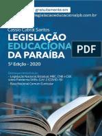 Legislação Educacional da Paraíba