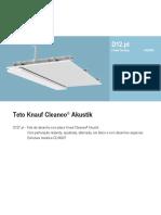 D12.pt Teto Knauf Cleaneo® Akustik (2020-01)
