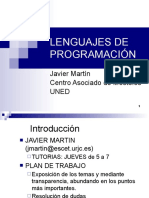 LENGUAJES DE PROGRAMACI%D3N