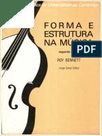 Roy Bennett - Forma Estrutura Musica