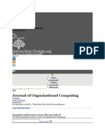 ORGANIZATION COMPUTING