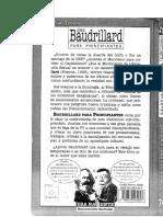 Jean Baudrillard Para Principiantes