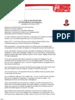 Discours DR DISCOURS D'INVESTITURE - 09 02 97