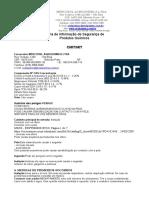 Mp0077 - Fispq Isotiazolinona Cmitmit - Mercosul