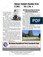 Newsletter March 2011