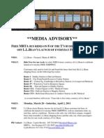 LLBean MBTA MEDIA ADVISORY 3 24 11