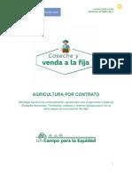 1. Documento de Política Coseche y Venda a La Fija 2019