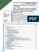 NBR IEC 60439-1 - 2003 - Conjunto de Manobra e Controle de Baixa Tensão