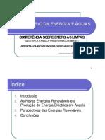 Energias Renovveis Em Angola - Conferncia de Energias Limpas