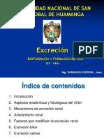 6° EXCRECION