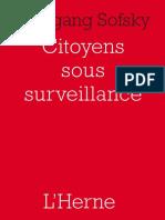 Citoyens sous surveillance - la fin de la vie privée