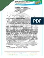 INFORME  N° 068– 2021 – MDSMCH – GDUR-N.Y.C. solicito cuaderno de obra