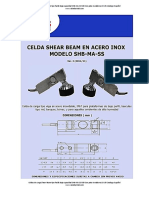 Celdas Shear Beampacidad SHB-MA-SS-500 Con Pata Niveladora LEXU