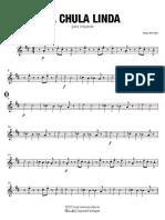 La Chula Linda - Saxofón Tenor 2