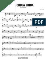 La Chula Linda - Trompeta 2 Bb