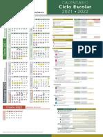 Calendario Ciclo Escolar 2021 2022 Universidad Autonoma Del Estado de Mexico
