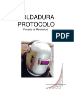 SOLDADURA PROTOCOLO