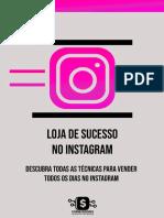 Vendas pelo Instagram
