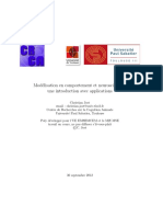 Modalisation non-linéaire EDP et probabilité (bien)