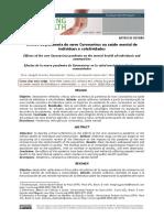 Efeitos da pandemia do novo Coronavírus na saúde mental de (1)