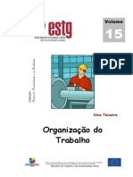 Manual - Organização do Trabalho