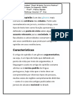 Reforço Escolar Língua Portuguesa 2° ano