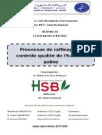 rapport SFE les huileries du souss belhassan