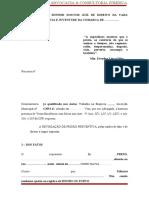 REVOGAÇÃO DE PRISÃO PREVENTIVA modelo