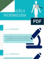 Aula 01 - INTRODUÇÃO MICROBIOLOGIA