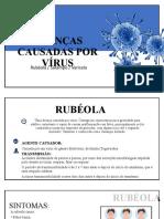 Aula 03  Doenças Causadas por Virus  Rubeola, Sarampo, Varicela