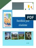 anesthesiepourcesarienne