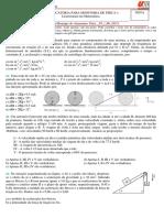 Avaliação Classificatória - Monitoria de Física 1 - 2020-2